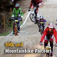 Mountainbike-Parcours